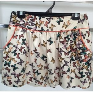 Ted Baker Butterfly Skirt size 4 (US 10) (L)